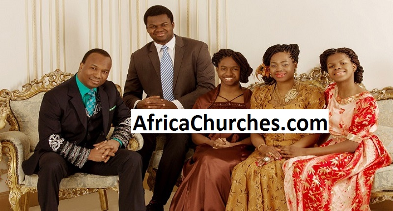 Pastor Sunday Adelaja (Founder of the Embassy of God) and Family