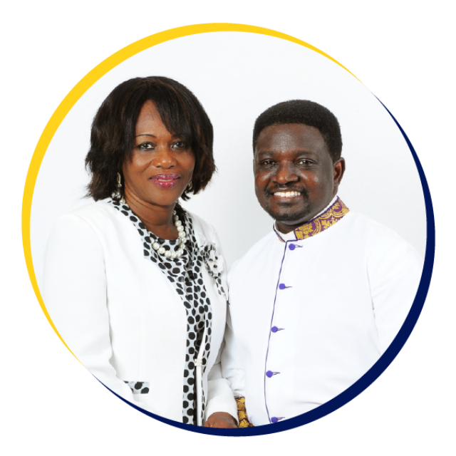 Bishop Charles Agyinasare and his wife.