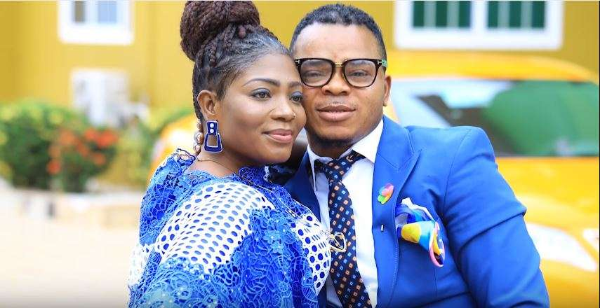 Bishop Daniel Obinim and his wife Florence Obinim