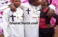 Prophet kisses wife, housemaid in public