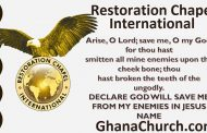 Restoration Chapel International - Prophet Frank Dwomoh Sarpong