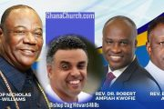 Rev. Eastwood Anaba, Bishop Dag & Dr. Ampiah-Kwofi are sons of Archbishop Duncan-Williams, Papa led Anaba to Christ [Video]