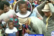7-Year-Old Ghanaian Womanizer Boy At Bishop Obinim's Church [Video]