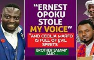 """Brother Sammy Exposed Gospel Singers on Delay TV Show - """"Ernest Opoku stole my voice and Cecilia Marfo is full of evil spirits"""" [Video]"""