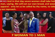 Seven Women Shall Lay Hold of One Man By David Wilkerson