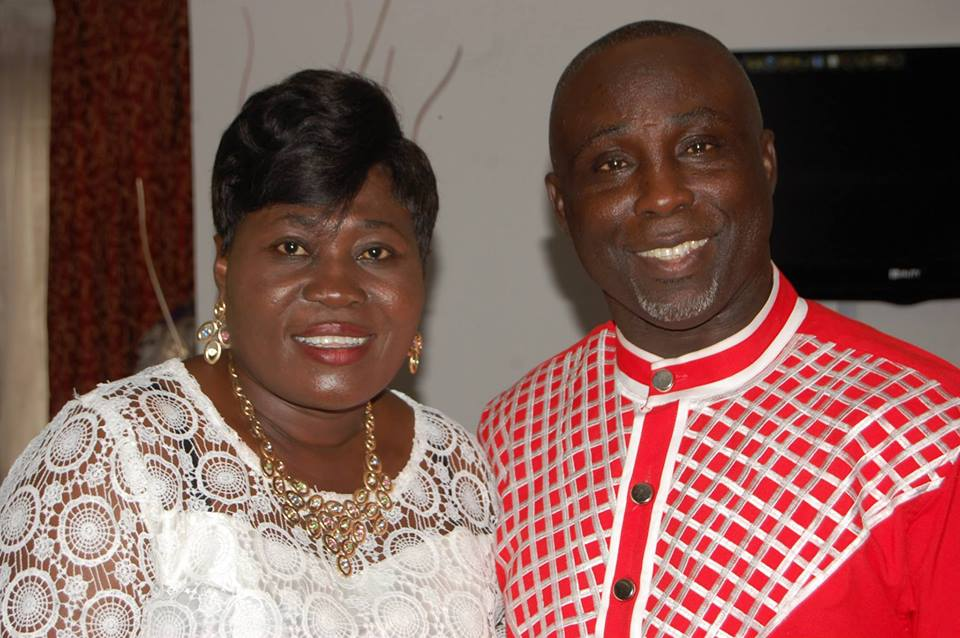 Prophet Isaac Anto and wife