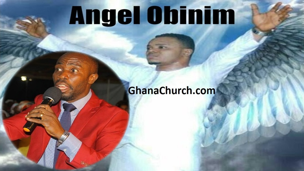 Bishop Angel Daniel Obinim (Right) And Prophet Kofi Amponsah (Left)
