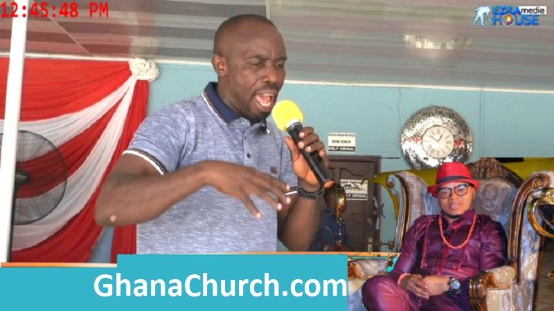 Prophet Kofi Amponsah (Left) and Bishop Angel Daniel Obinim (Right)