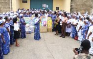 Madina Area - Church of Pentecost Women's Ministry Donates Items To Nsawam Prisons