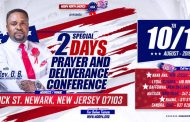 Mogpa North America Presents 2 Days Prayer & Deliverance Conference with Rev. OB in New Jersey