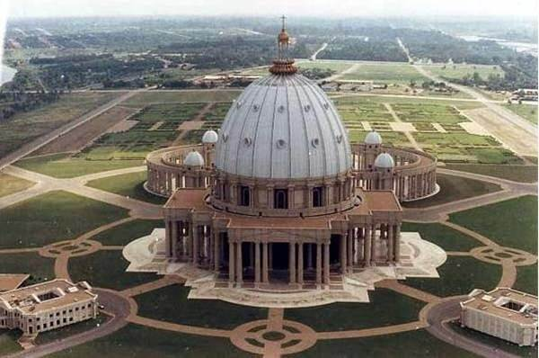 Basilica of Our Lady of Peace of Yamoussoukro – Côte d'Ivoire.