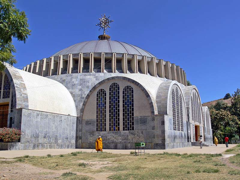 New Church of St. Mary of Zion – Tigray, Ethiopia.