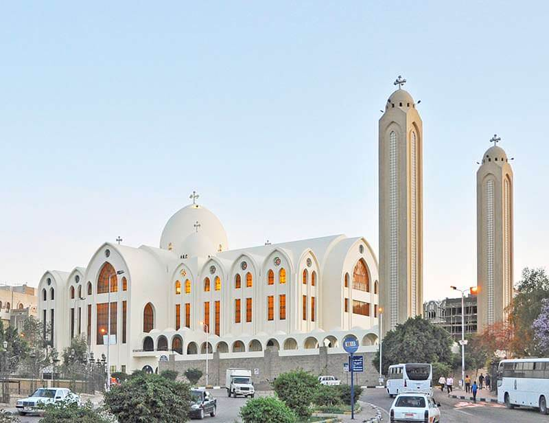 Archangel Michael's Coptic Orthodox Cathedral – Aswan, Egypt.