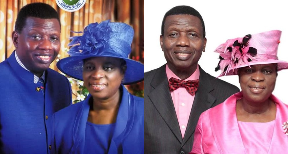 Pastor Enoch Adejare Adeboye and his wife Mrs. Tope Adeboye
