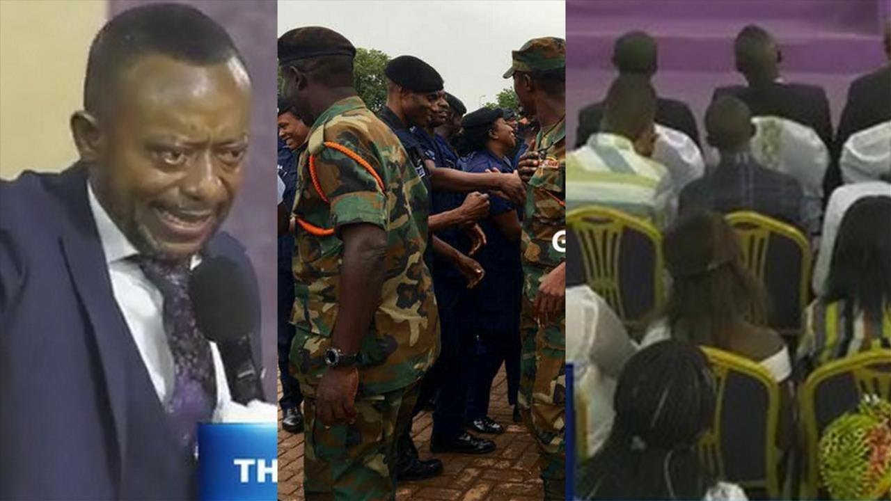 Owusu Bempah's church was highly guarded, members full on this Sunday (6th Jan 2019), after the Muslims' Zongo Youth Attack [Watch Video]