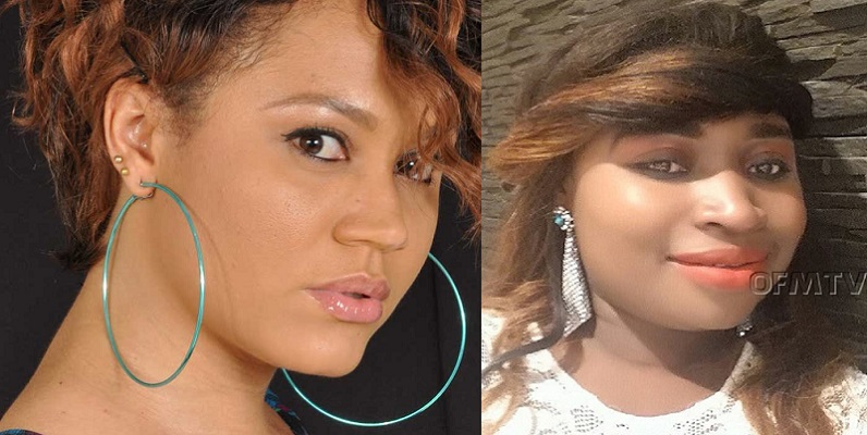 Actress Nadia Buari and Gospel Singer Leticia QueenLet fight over keeping of a man issue [Watch Video]