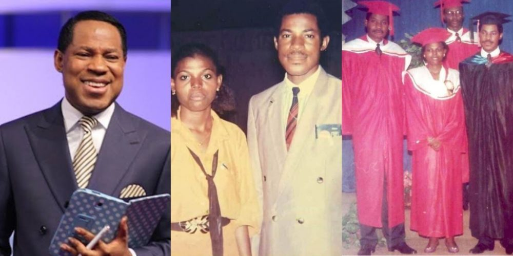 Trending throwback photos of Pastor Chris Oyakhilome