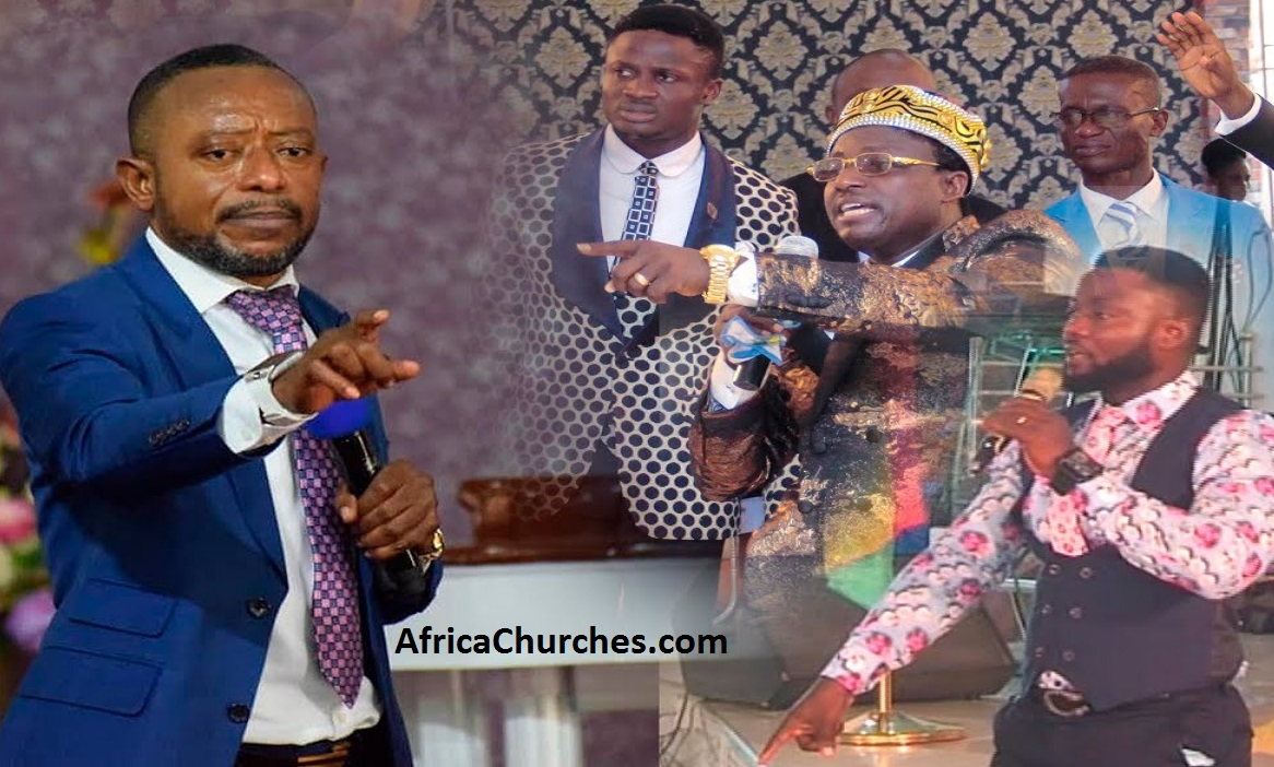 Rev Owusu Bempah is spiritually married to his mother - Opambour's Junior Pastors, Stop bleaching [Watch Full Video]