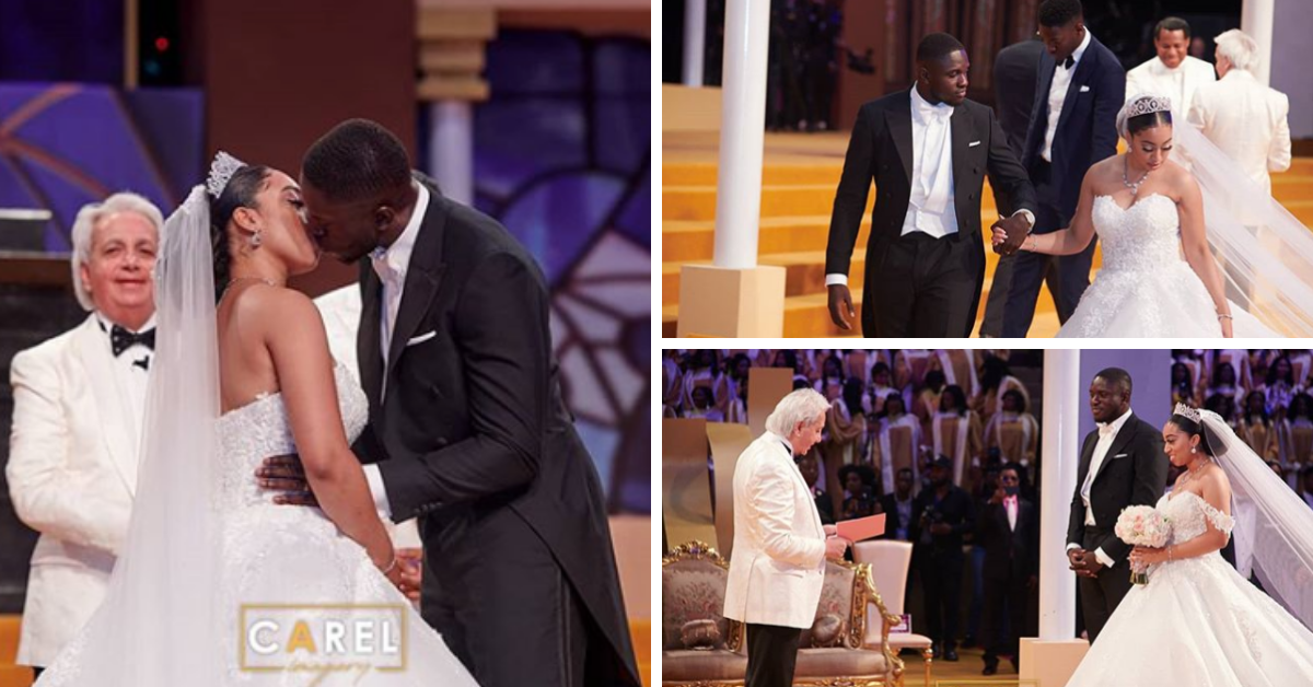 Pastor Benny Hinn at Pastor Chris' Daughter Carissa Sharon Traditional Marriage & Wedding