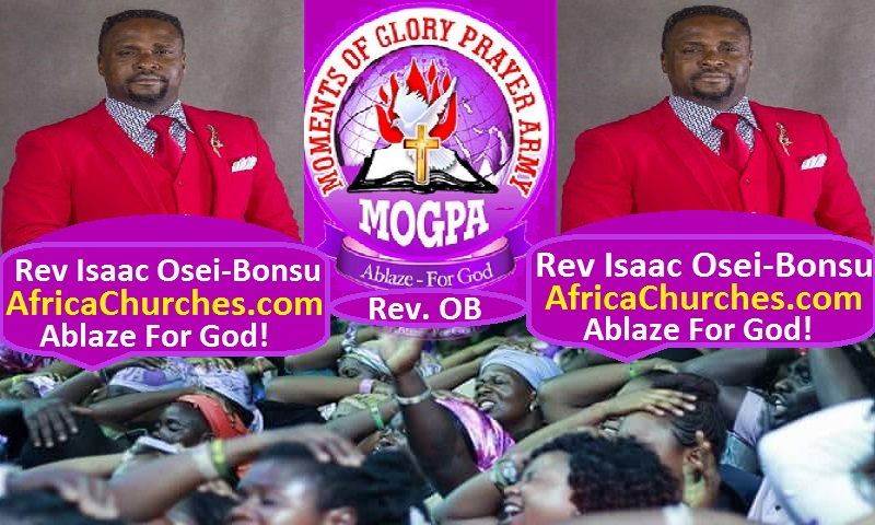 Abrankese Stadium - Kumasi, Ghana All Night On Mogpa Radio & Mogpa TV with Rev. OB - Moments of Glory Prayer Army