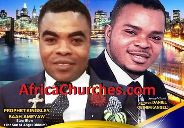 Prophet Kingsley Baah Ameyaw And Bishop Daniel Obinim