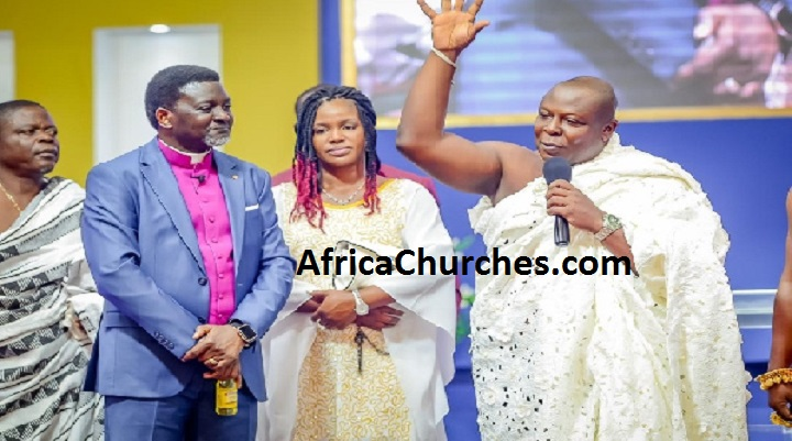 'Bishop Agyinasare stopped the rain' - Togbuiga Amenya Fiti V testifies [Video]