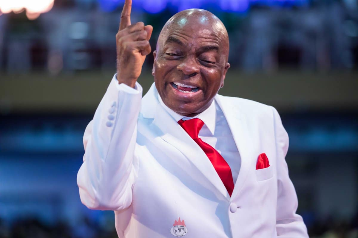 Bishop David Oyedepo, the founder of Living Faith Church Worldwide