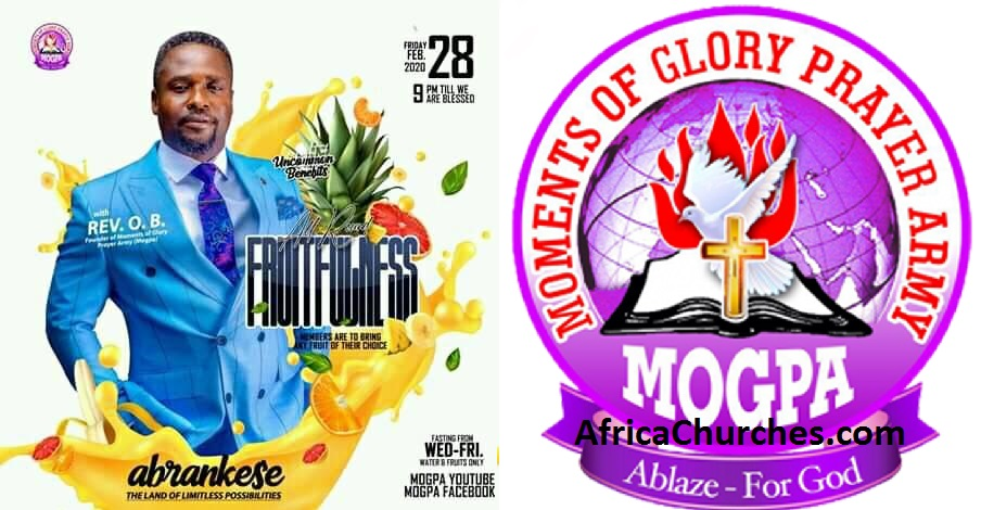 Moments of Glory Prayer Army - MOGPA All Night at Abrankese, Also On Mogpa Radio & Mogpa TV with Rev. OB