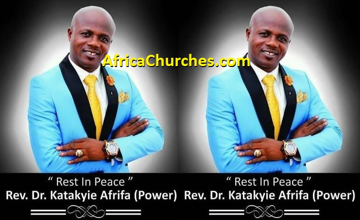 Profile And Biography Of Rev Dr Katakyie Afrifa