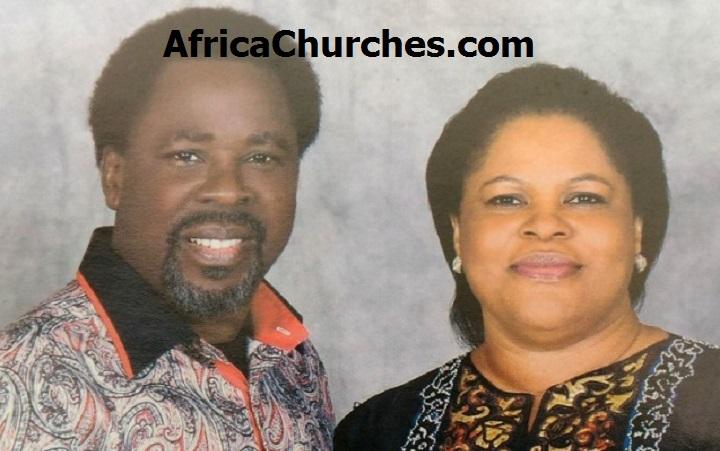 Prophet TB Joshua And His Wife Evangelist Evelyn Joshua