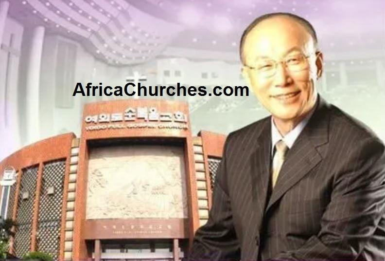 Yoido Full Gospel Church - Founded by Dr David Yonggi Cho and Choi Ja-shil in 1958
